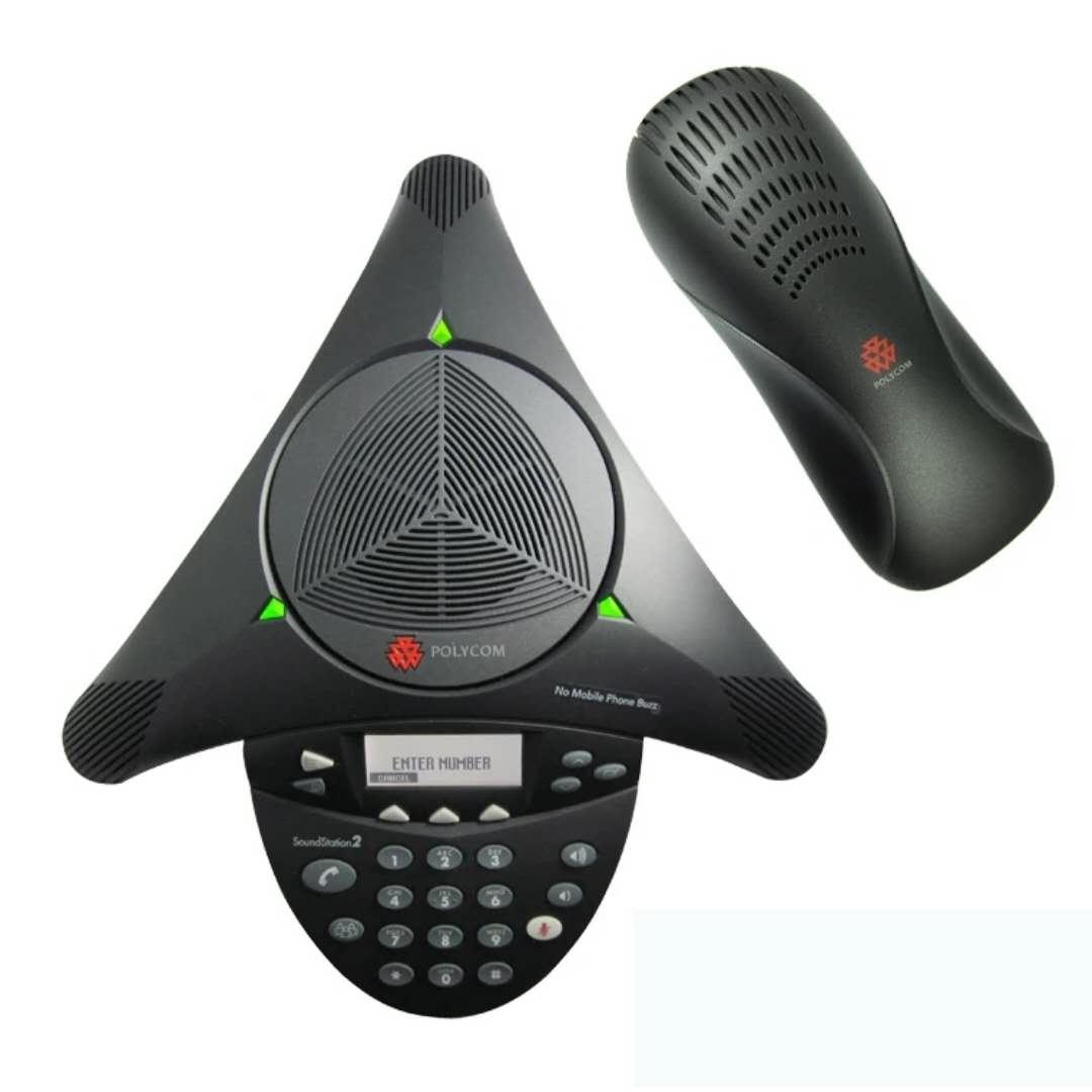 宝利通soundstation2 标准型电话机